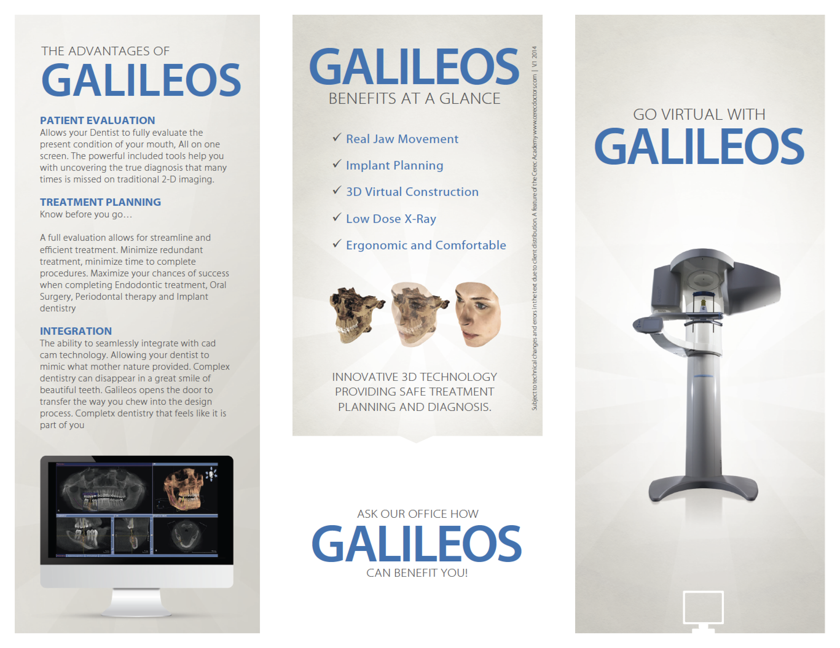 Galileos Brochure